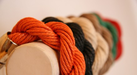 Hand Made Organic Cotton Plait Bracelet